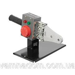 Паяльник для пластиковых труб, 850 Вт, 0-300°C, насадки 20, 25, 32 мм, металлический кейс INTERTOOL RT-2110