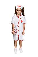 Детский карнавальный костюм маскарадный костюм Доктор медсестра для девочки размер: 110-116, 118-124, 126-134