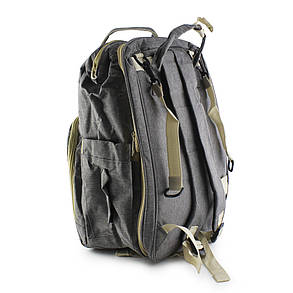 Рюкзак-ліжечко для мами Baby Travel Bed-Bag, фото 2
