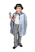 Детский карнавальный маскарадный костюм Сыщик рост:110-134 см