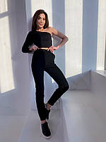 Женские брюки-джоггеры Черный