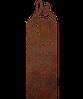 Надгробие из металла 50*103см*8мм. Мемориальная плита, памятник Музыка 01