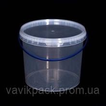 Ведро пластиковое пищевое 3 л
