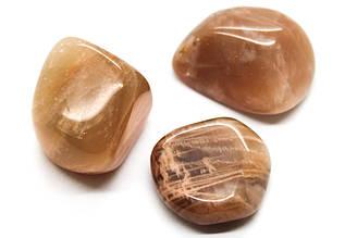 Солнечный камень Гелиолит натуральный галтовка на развес, Цена указана за 7 грамм, Цвет Оранжевый