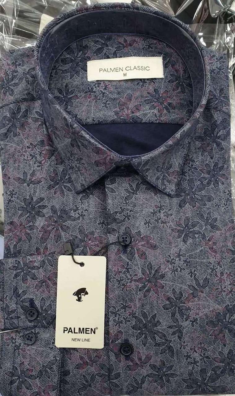 Чоловіча класична сорочка Palmen з принтом