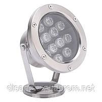 Светильник подводный для фонтана K-3301 LED 12W RGB 12V размер 160мм*195мм IP68, фото 10