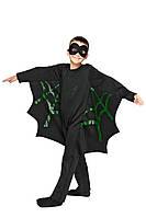 Детский карнавальный маскарадный костюм Летучая мышь размер от 110 до 134 см