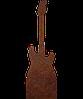 Надгробок з металу Музика 3