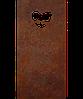 Надгробие из металла Люблю 2 Сталь Сorten 6 мм