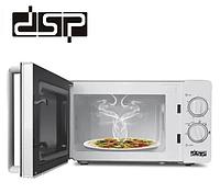 Побутова мікрохвильова свч піч для розігріву і приготування їжі на 20 л 1150 Вт DSP KB6001