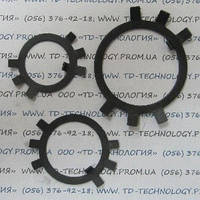 Шайба стопорная многолапчатая Ф10 по ГОСТ 11872-89, DIN 5406., фото 1