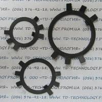 Шайба стопорная многолапчатая по ГОСТ 11872-89, DIN 5406.