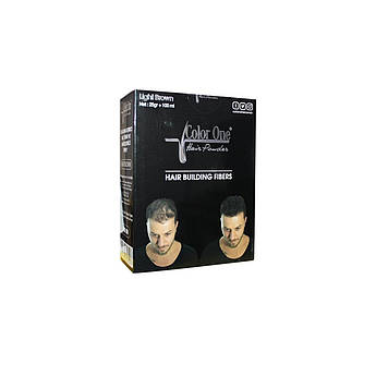 Набор для редеющих волос (пудра и спрей) Color One Коричневый