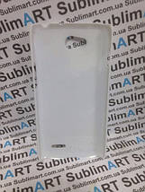 Чехол для 2D сублимации пластиковый на LG L90 Белый, фото 3