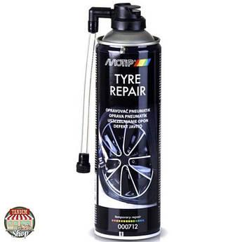 Аварійний герметик для шин Motip Black Line Tyre Repair 500 мл Аерозоль