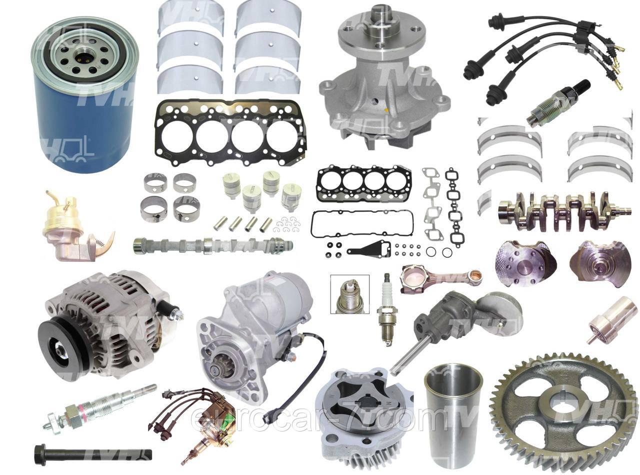Запчасти для двигателя Toyota 1DZ, 1DZ-II, 1Z, 2Z, 2J, 2H, 4P, 4Y, 5K, 11Z, 12Z, 13Z, 14Z