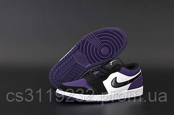 Женские кроссовки Air Jordan 1 Low (фиолетовый)