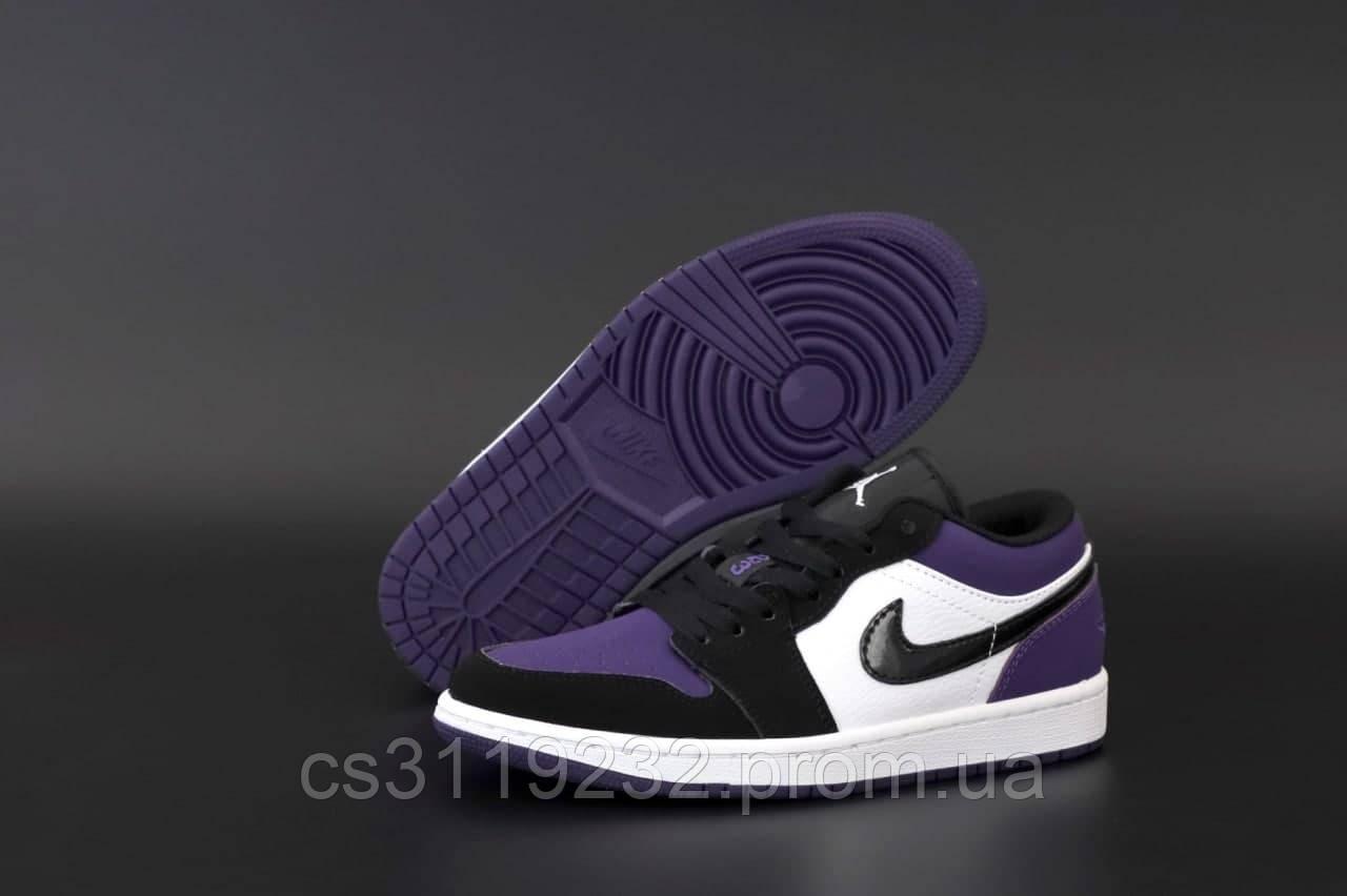 Жіночі кросівки Air Jordan 1 Low (фіолетовий)