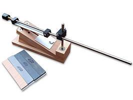 Точилка настольная с магнитом держания, в комплекте с камнями (220, 400, 1200 + кожа) (table_sharpener)