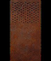 Надгробок з металу Люблю 14 Сталь Сorten 6 мм