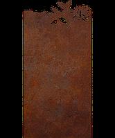 Надгробие из металла 50*103см*8мм. Мемориальная плита, памятник Люблю 15, фото 1