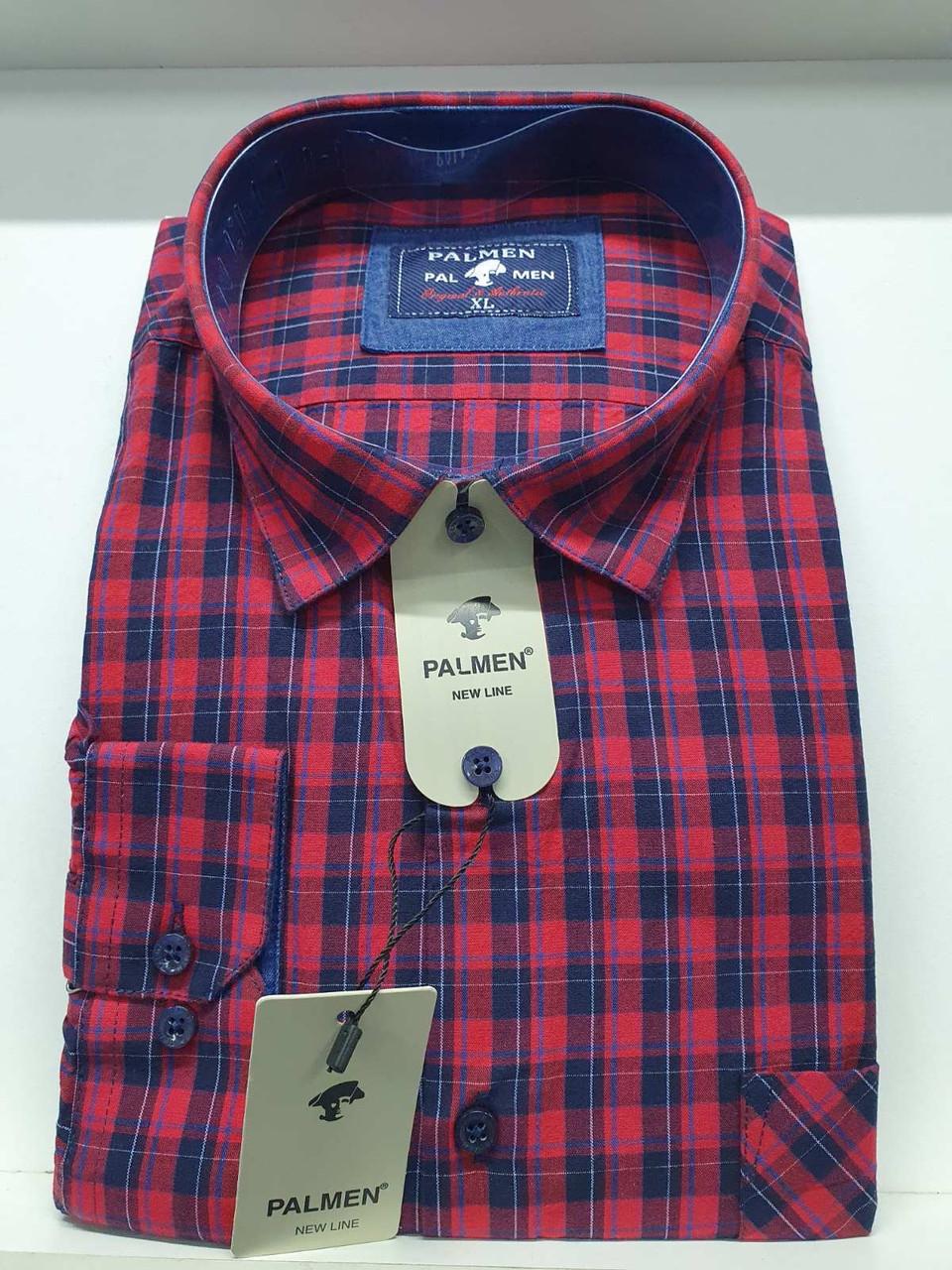 Чоловіча сорочка Palmen в клітку