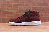 Мужские кроссовки Nike Lunar Flyknit Chukka red