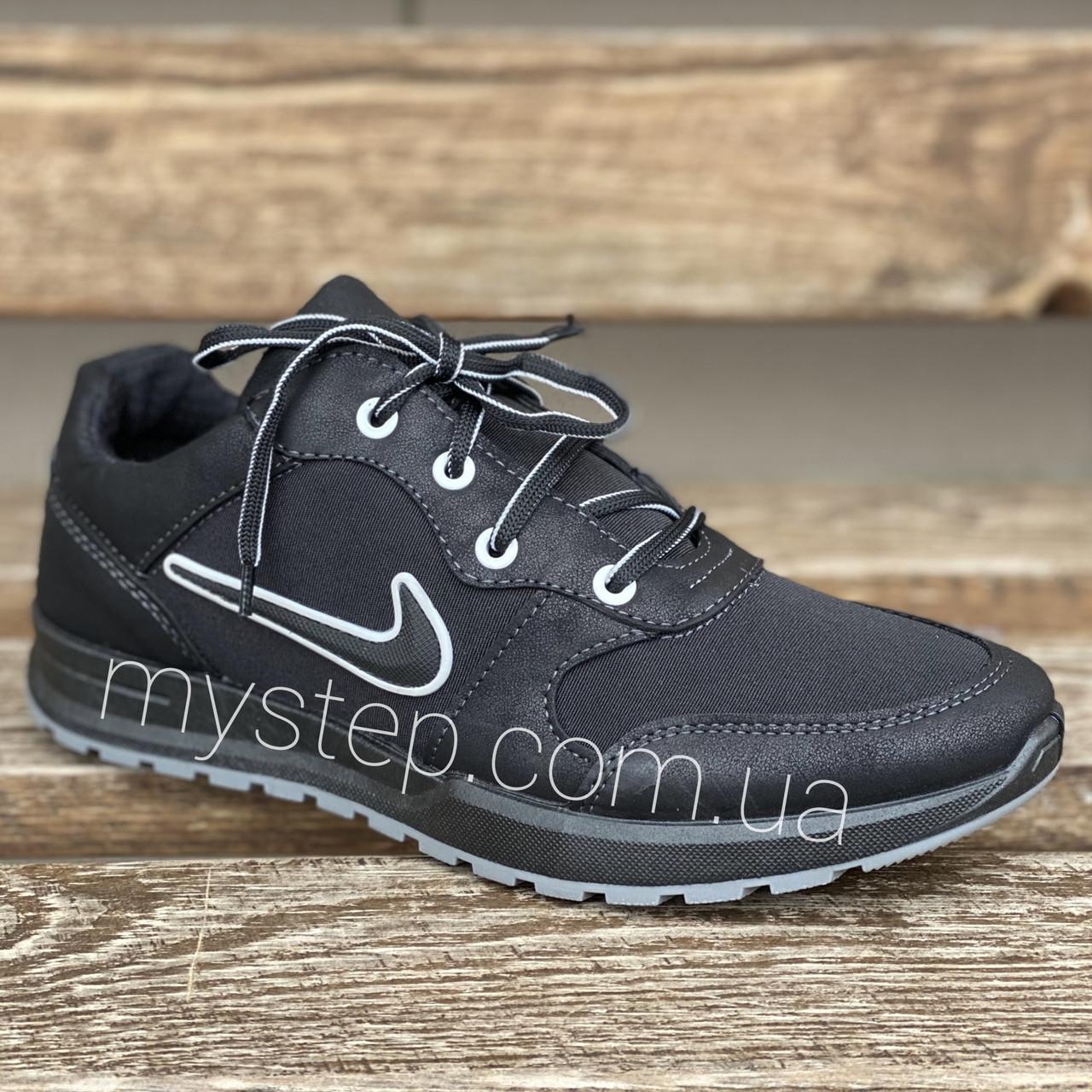 Кроссовки мужские черные Dago Style М30-04