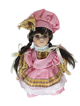 Кукла фарфоровая коллекционная Наташа высота 20 см в подарочной коробке