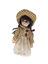 Кукла фарфоровая коллекционная Алина высота 20 см в подарочной коробке