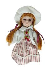 Кукла фарфоровая коллекционная Катя высота 20 см в подарочной коробке