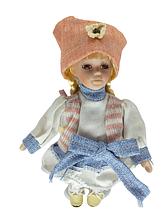 Кукла фарфоровая коллекционная Евгения высота 20 см в подарочной коробке