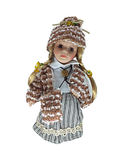 Кукла фарфоровая коллекционная Елизавета высота 20 см в подарочной коробке