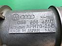 Расходомер воздуха (ДМРВ) Audi A6 C5 2.5TDi 2000-2005 год., фото 2