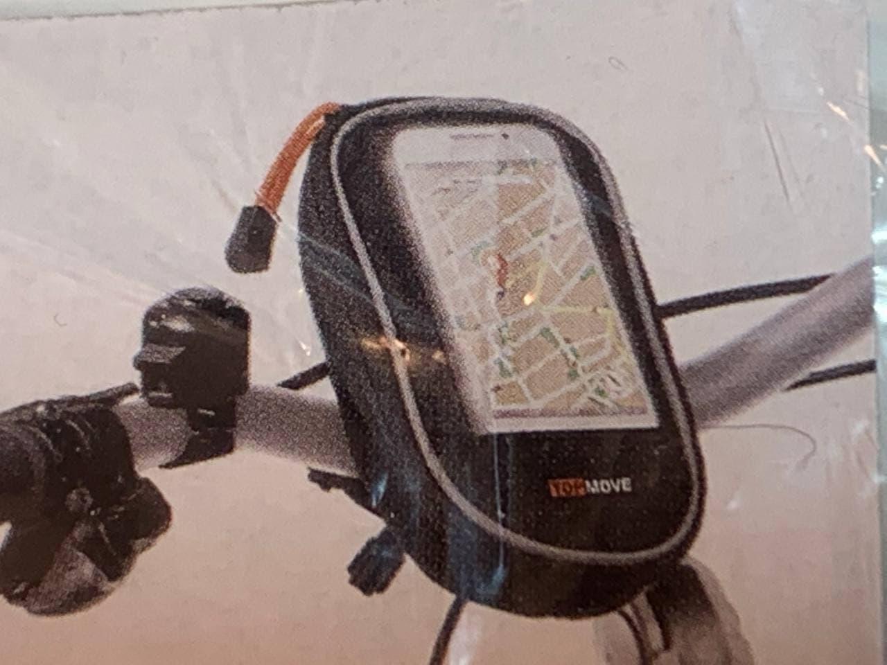 Велосипедний тримач TOPMOVE для смартфона розміру до 12,4х6,5 см Німеччина