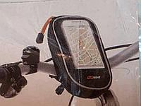 Велосипедний тримач TOPMOVE для смартфона розміру до 12,4х6,5 см Німеччина, фото 1