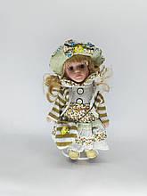 Кукла фарфоровая коллекционная Ева высота 20 см в подарочной коробке