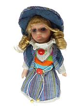 Кукла фарфоровая коллекционная Арина высота 20 см в подарочной коробке