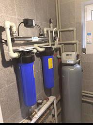 Монтаж фільтра знезалізнення та пом'якшення води