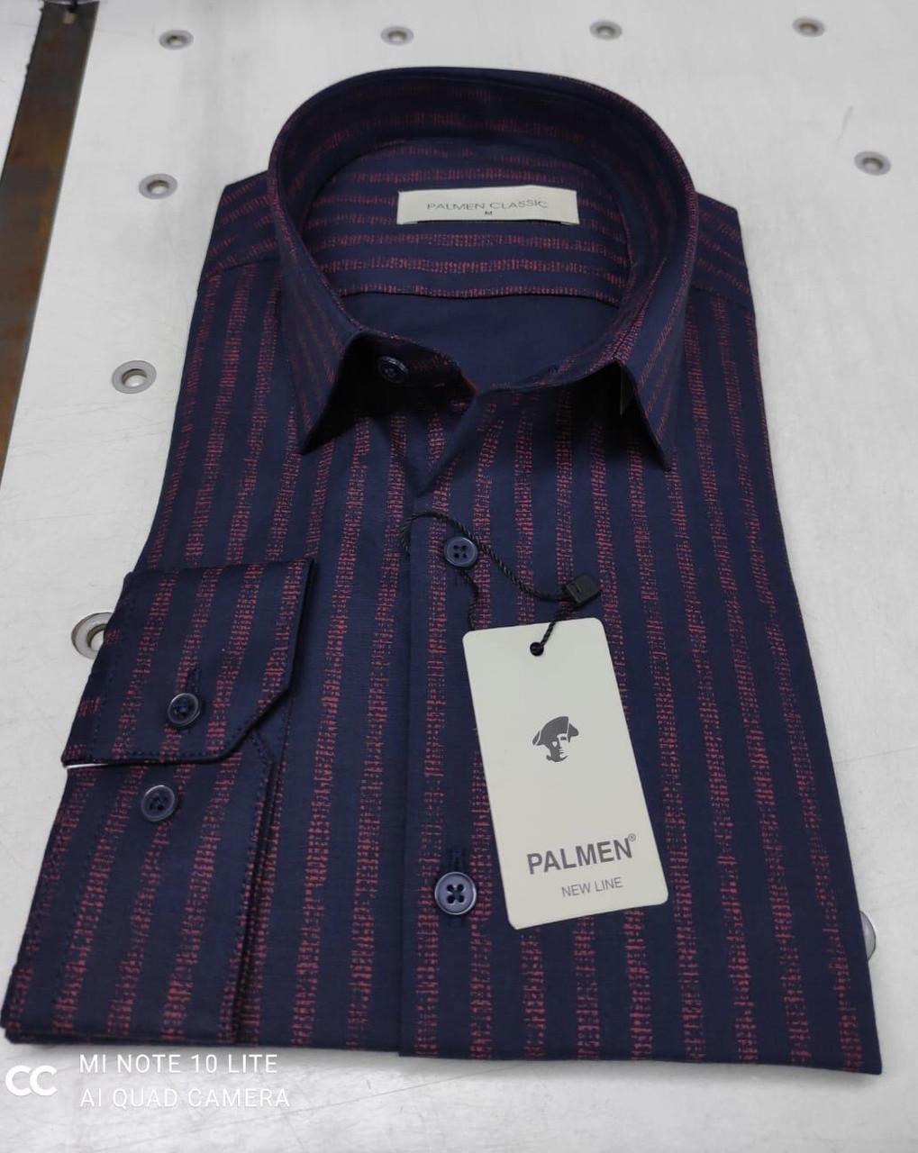 Чоловіча класична сорочка Palmen в полоску