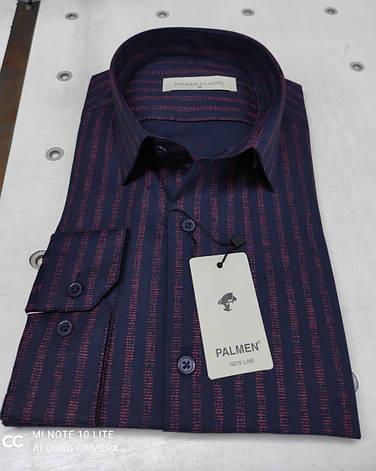 Чоловіча класична сорочка Palmen в полоску, фото 2
