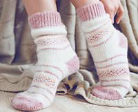 Шкарпетки жіночі махрові, вовняні.
