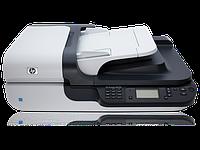 Планшетный сетевой сканер HP Scanjet N6350 б/у, фото 1