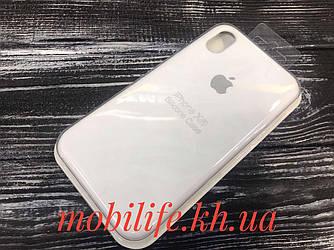 Чехол Silicon Case Original Apple iPhone XR/Белый/Высокое Качество/