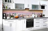 Самоклеющаяся Пленка для Фартука  Деловой квартал наклейка на стену 60х250см пейзаж, фото 1