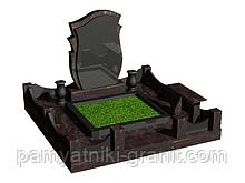 Гранитный памятник (Образец 2033)