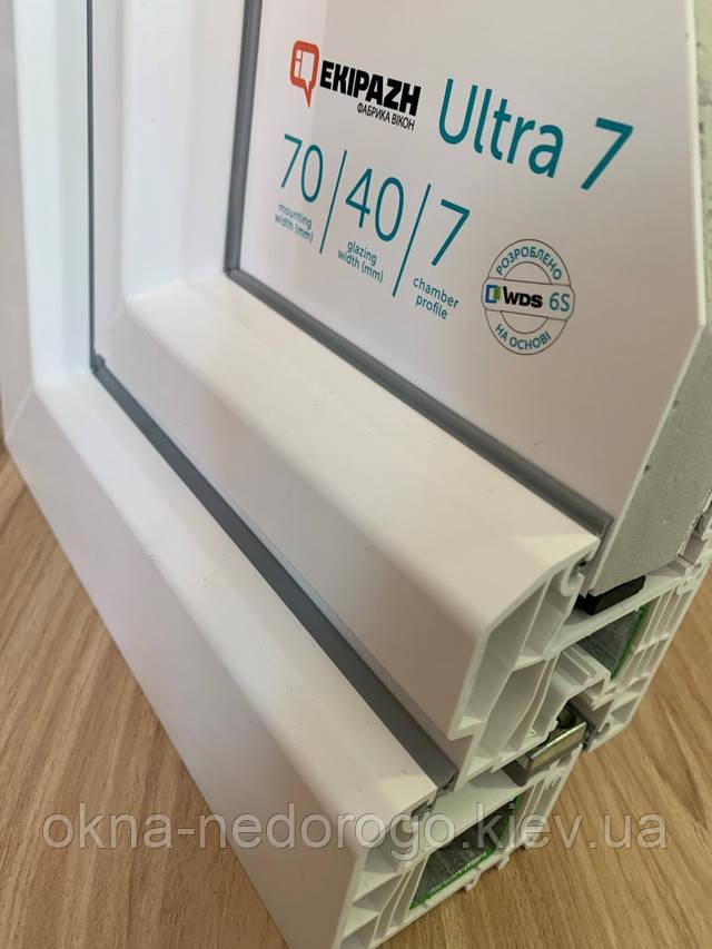 Пластиковые окна EKIPAZH ULTRA 7 фото профиля
