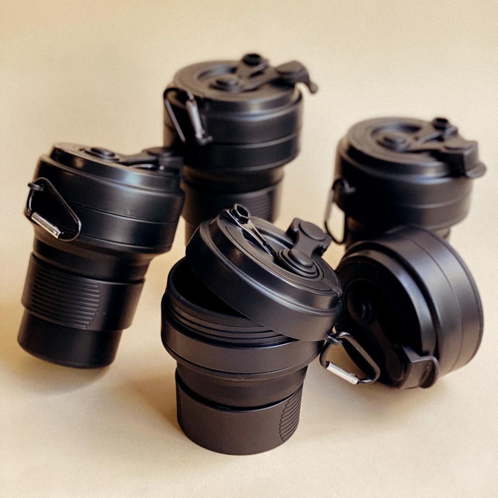 Складная кружка Cortado black