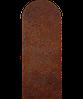Надгробие из металла Классические гробницы 01 Сталь Сorten 6 мм