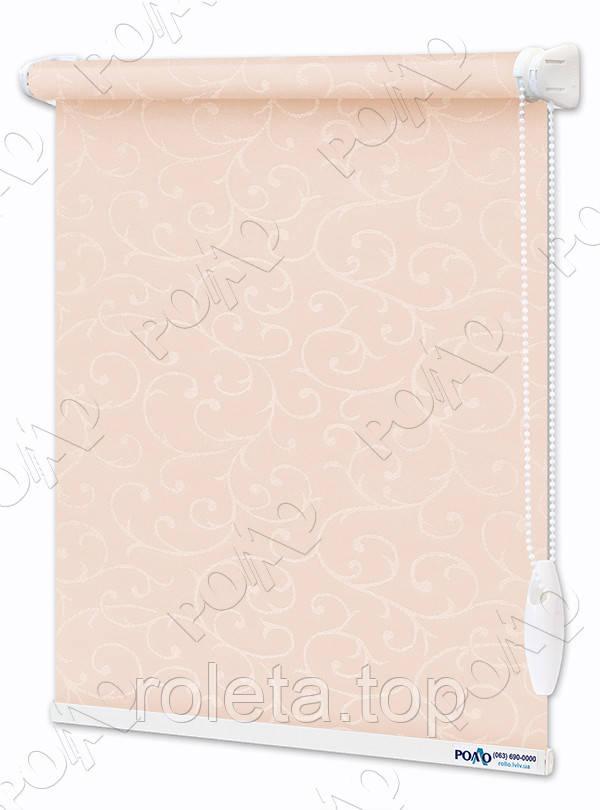 Рулонные шторы Акант Светло-Розовые